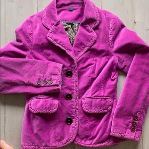 Boden Velvet Jacket size 10/4